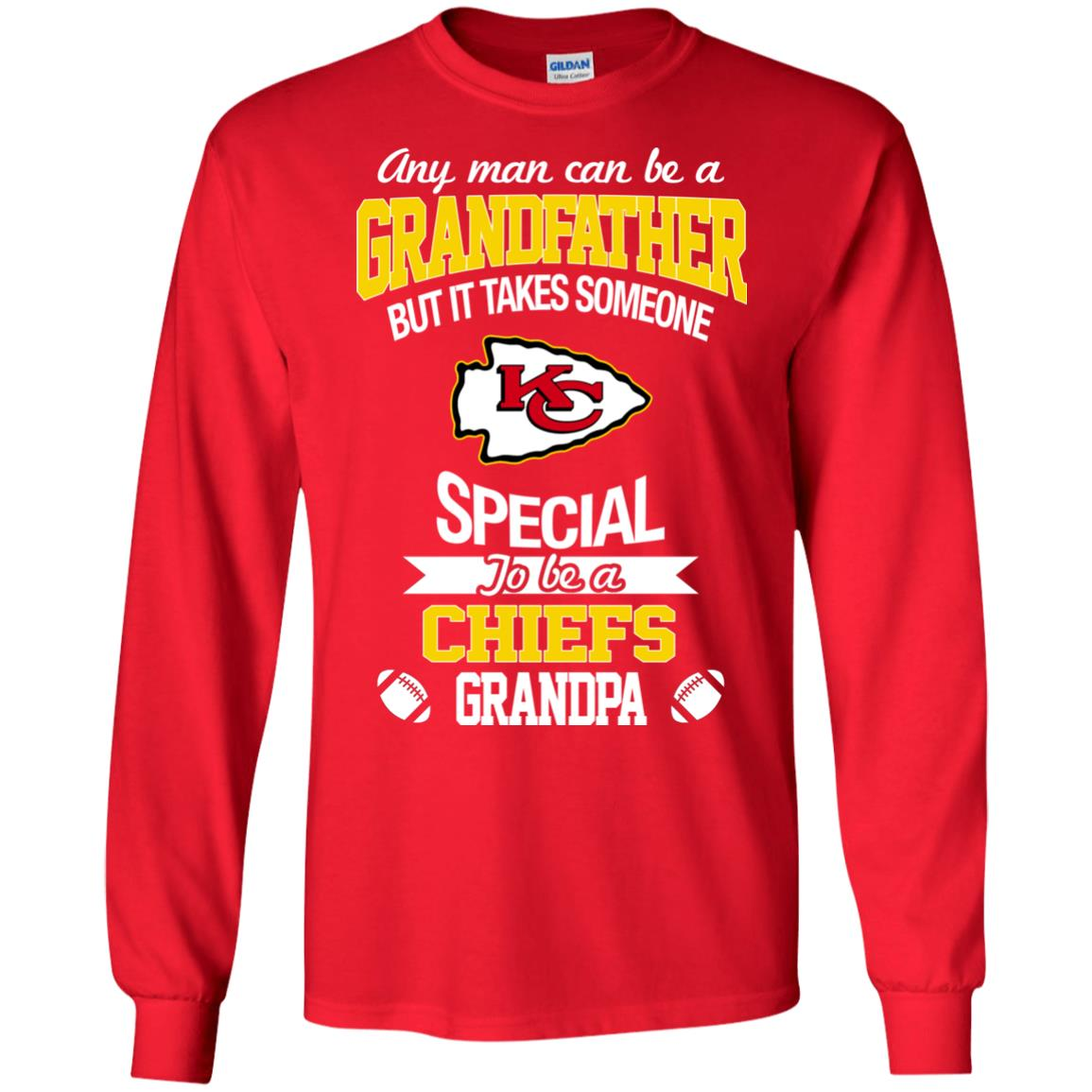 It Takes Someone Special To Be A Kansas City Chiefs Grandpa T Shirts