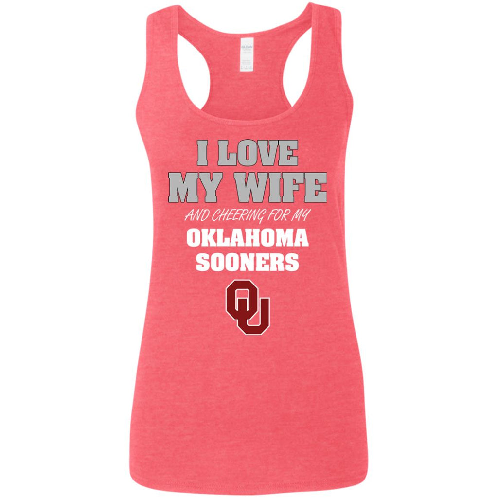 I Love My Wife And Cheering For My Oklahoma Sooners T Shirts