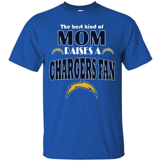 Best Kind Of Mom Raise A Fan Los Angeles Chargers T Shirts
