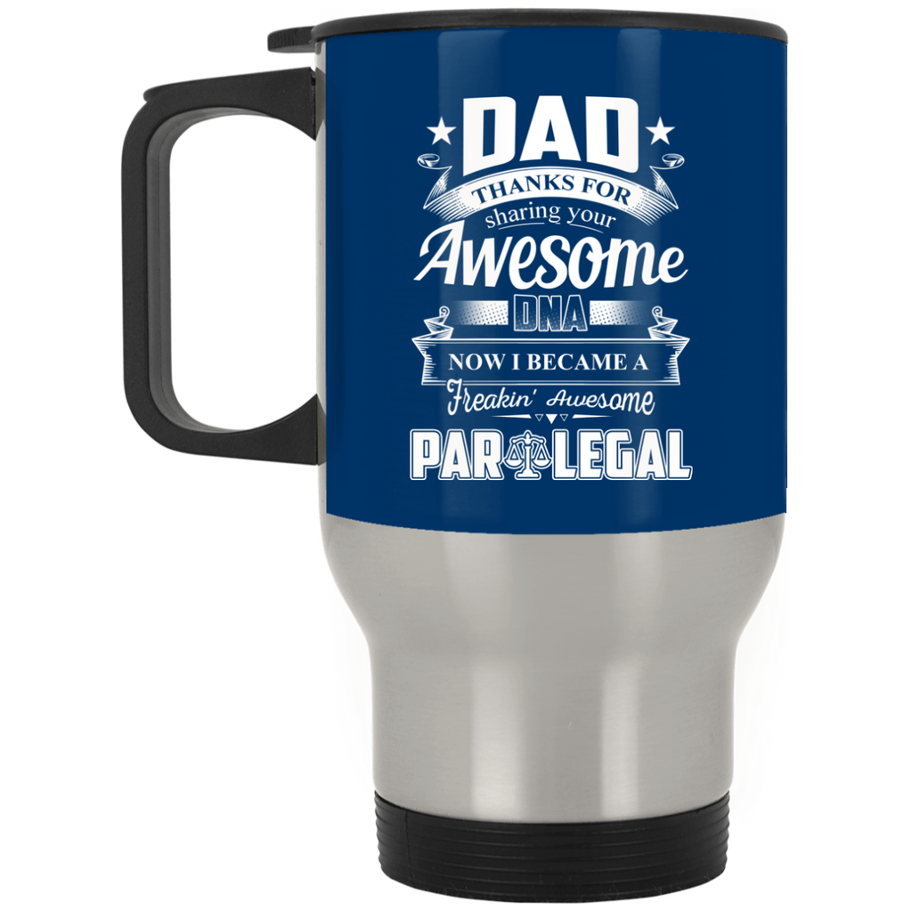 Dad Thanks For Sharing Your DNA Paralegal Mugs
