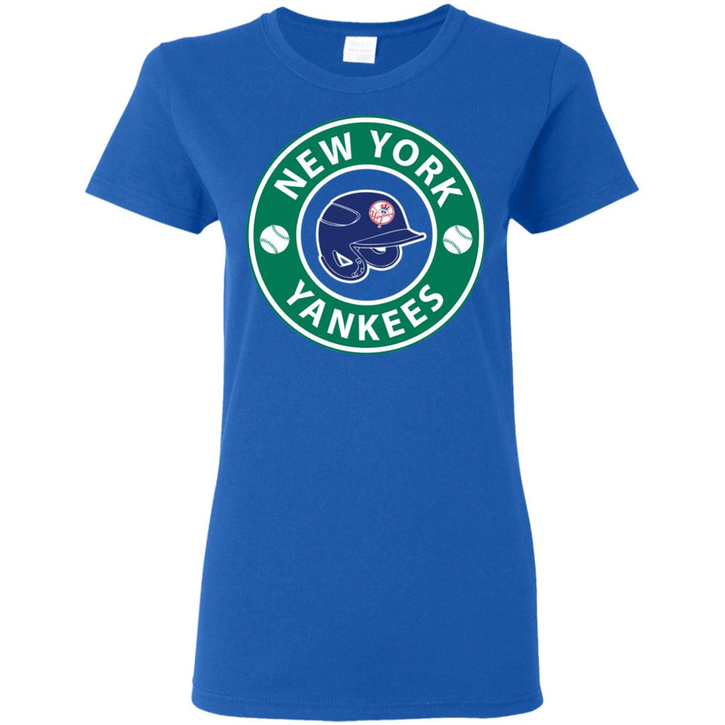 Starbucks Coffee New York Yankees T Shirts