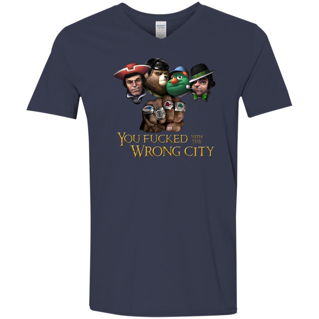You Fucked With The Wrong City T Shirt - Best Funny Store