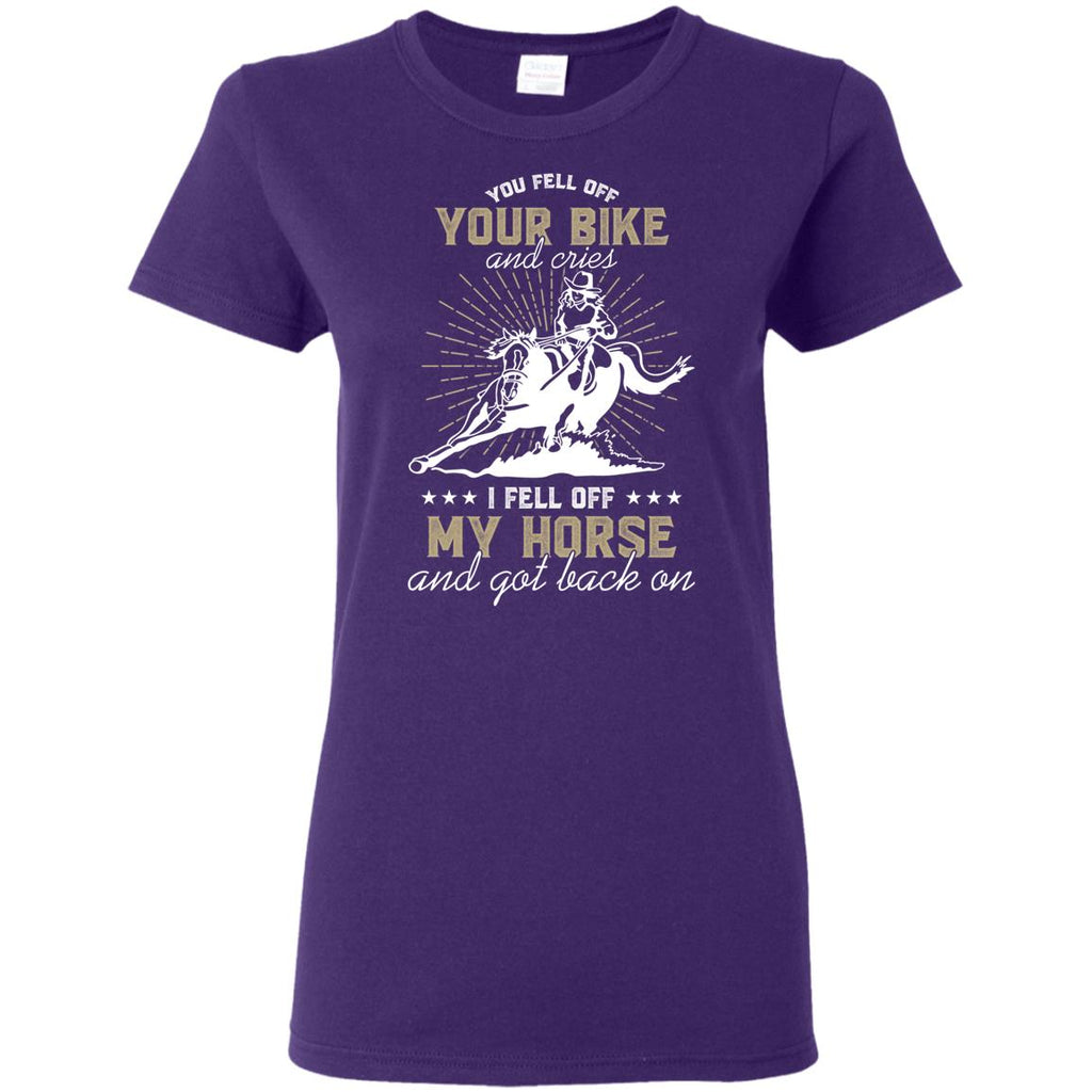 My Horse And Got Back On T Shirts