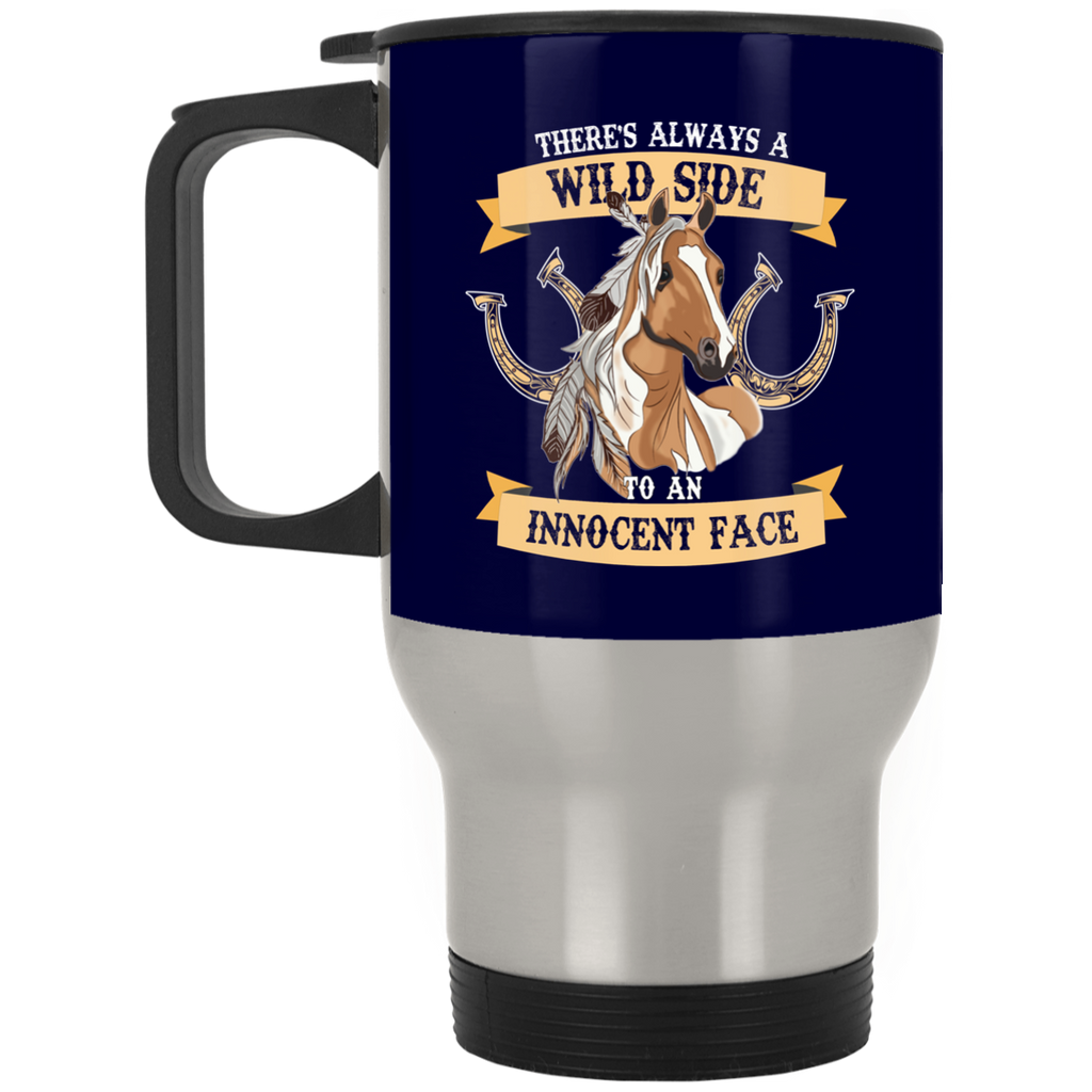 There's Always A Wild Side To An Innocent Face Horse Mugs