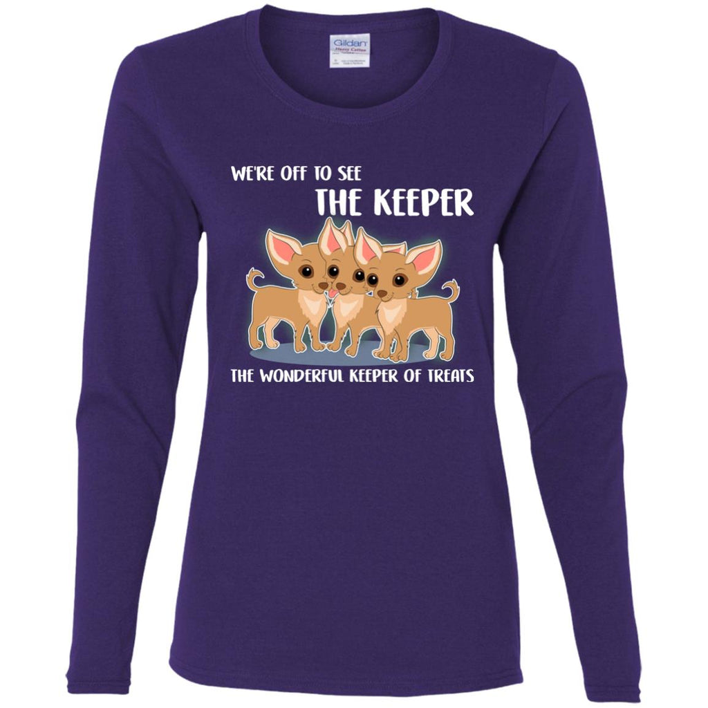 We're Off To See The Keeper Chihuahua T Shirts
