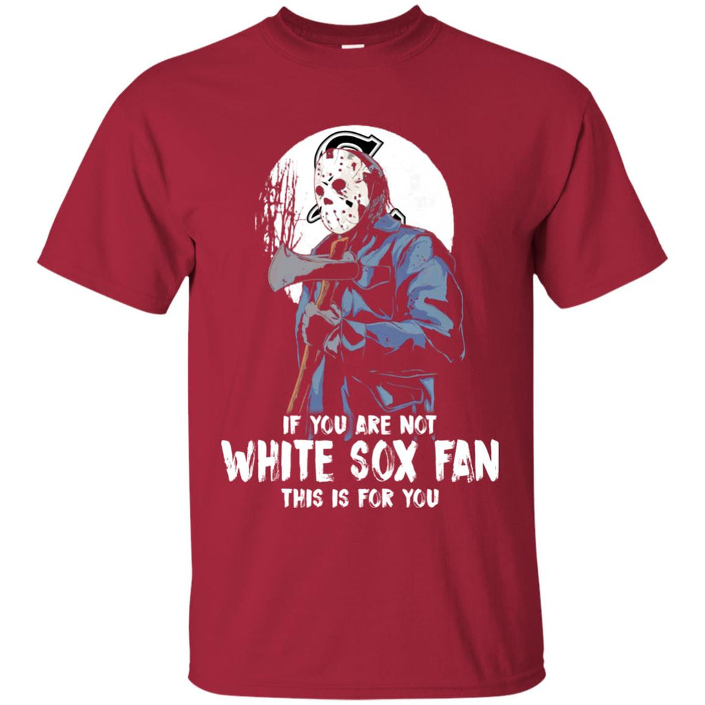 Jason With His Axe Chicago White Sox T Shirts
