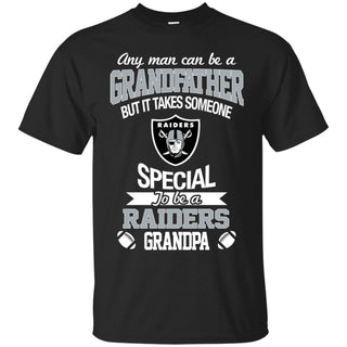 It Takes Someone Special To Be An Oakland Raiders Grandpa T Shirts