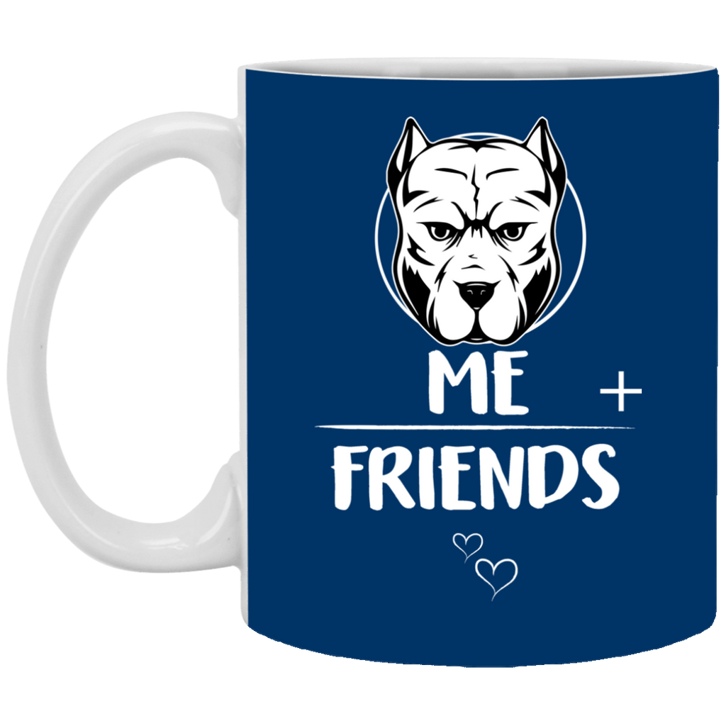 Pitbull Friends Mugs