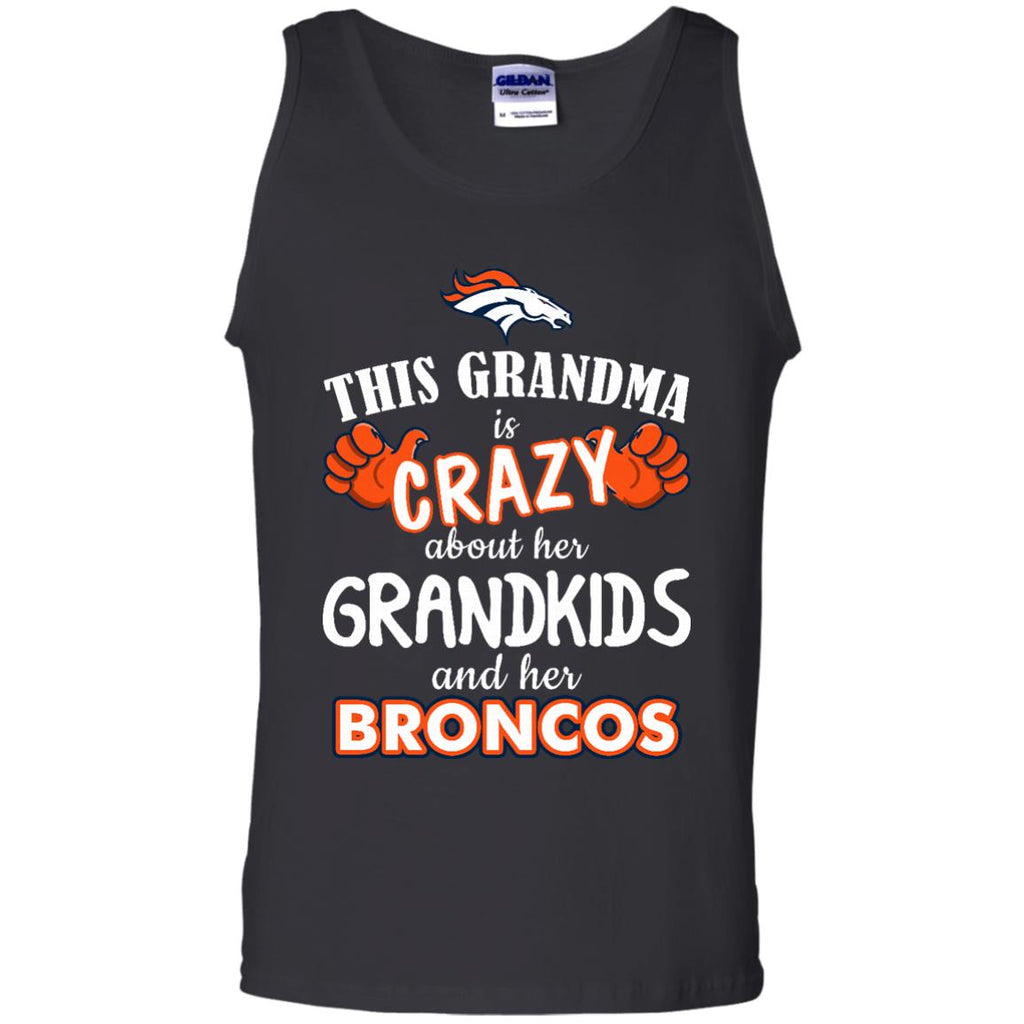This Grandma Is Crazy About Her Grandkids And Her Denver Broncos T Shirts