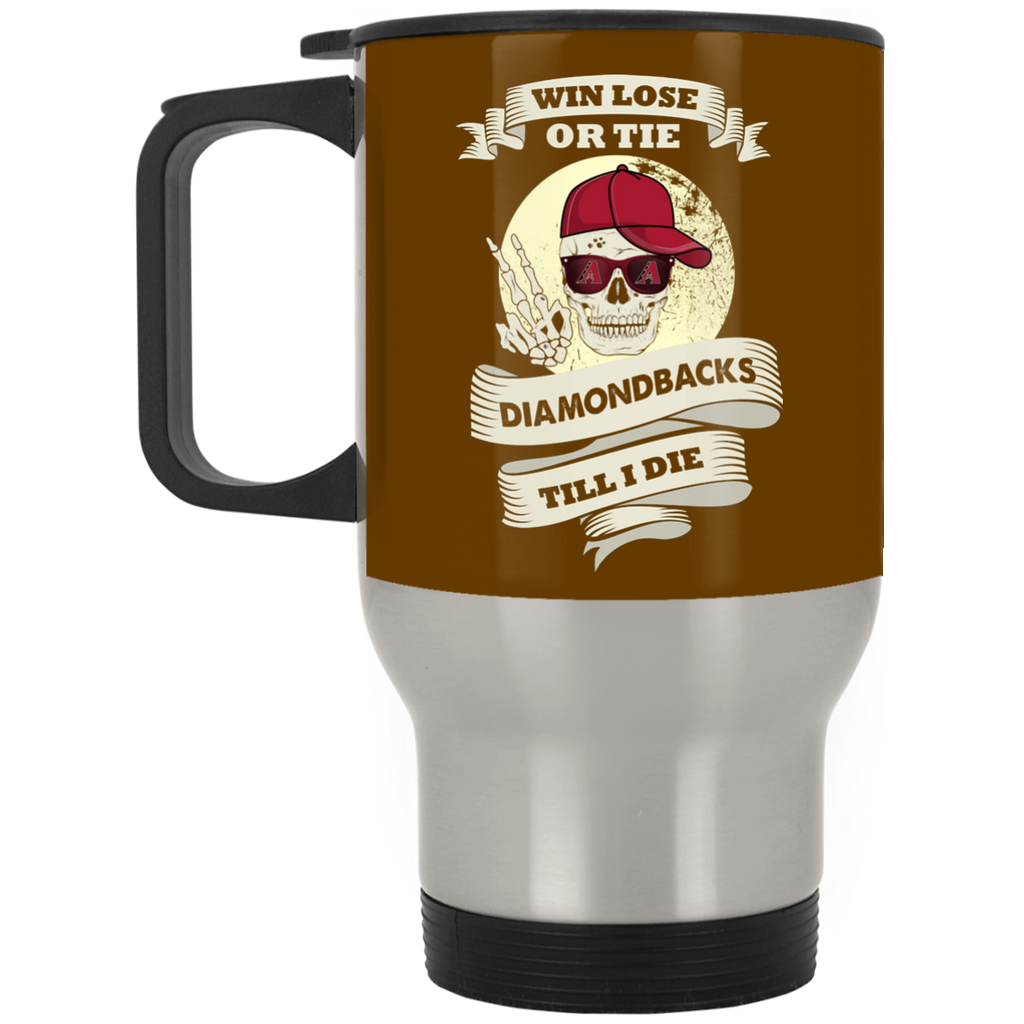 Skull Say Hi Arizona Diamondbacks Mugs