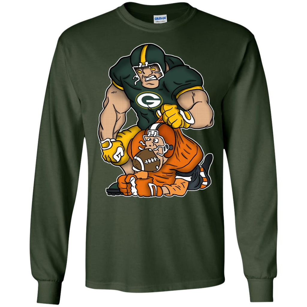 Beat Down Green Bay Packers T Shirt - Best Funny Store