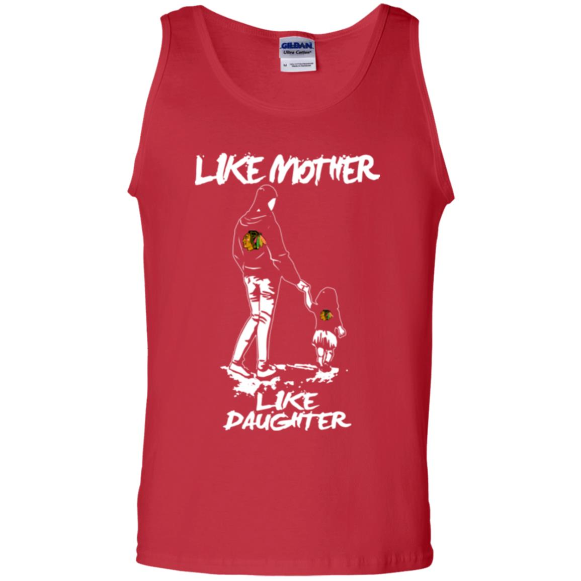 Like Mother Like Daughter Chicago Blackhawks T Shirts