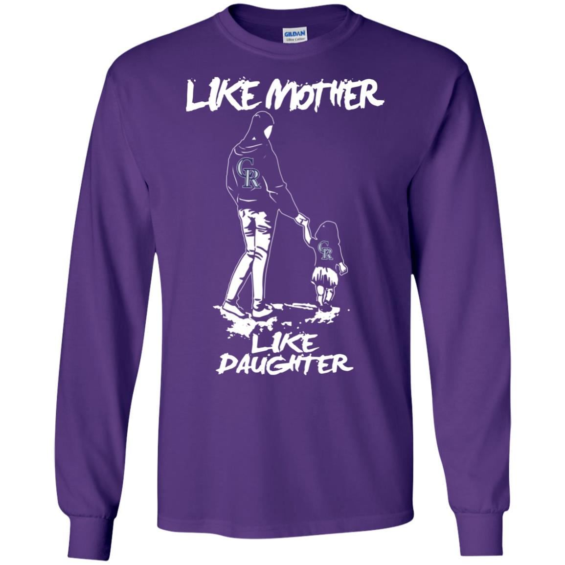 Like Mother Like Daughter Colorado Rockies T Shirts