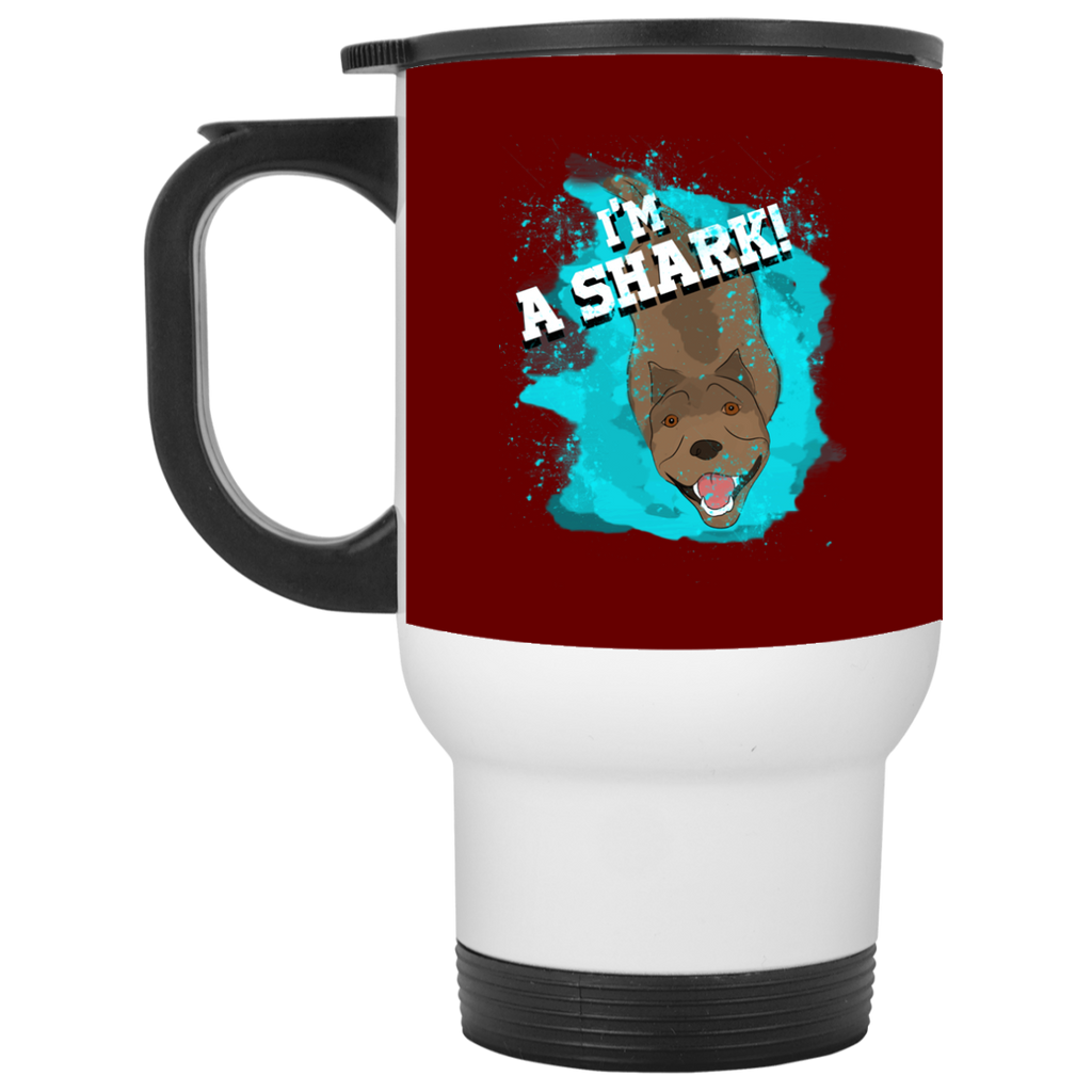 Im A pitbull Shark Mugs Ver 1