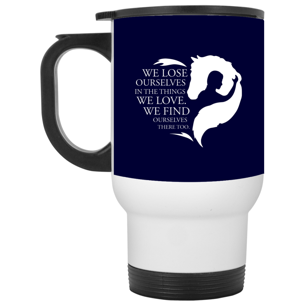 We Find Ourselves There Too Horse Mugs