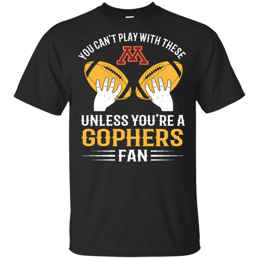 Play With Balls Minnesota Gophers T Shirt - Best Funny Store