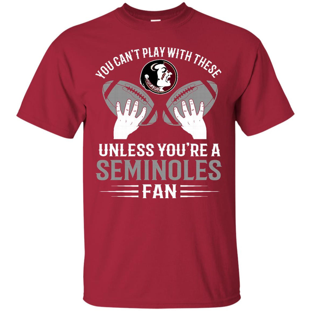 Play With Balls Florida State Seminoles T Shirt - Best Funny Store