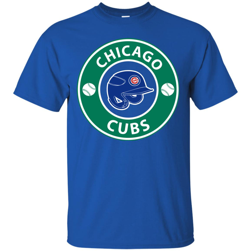 Starbucks Coffee Chicago Cubs T Shirts