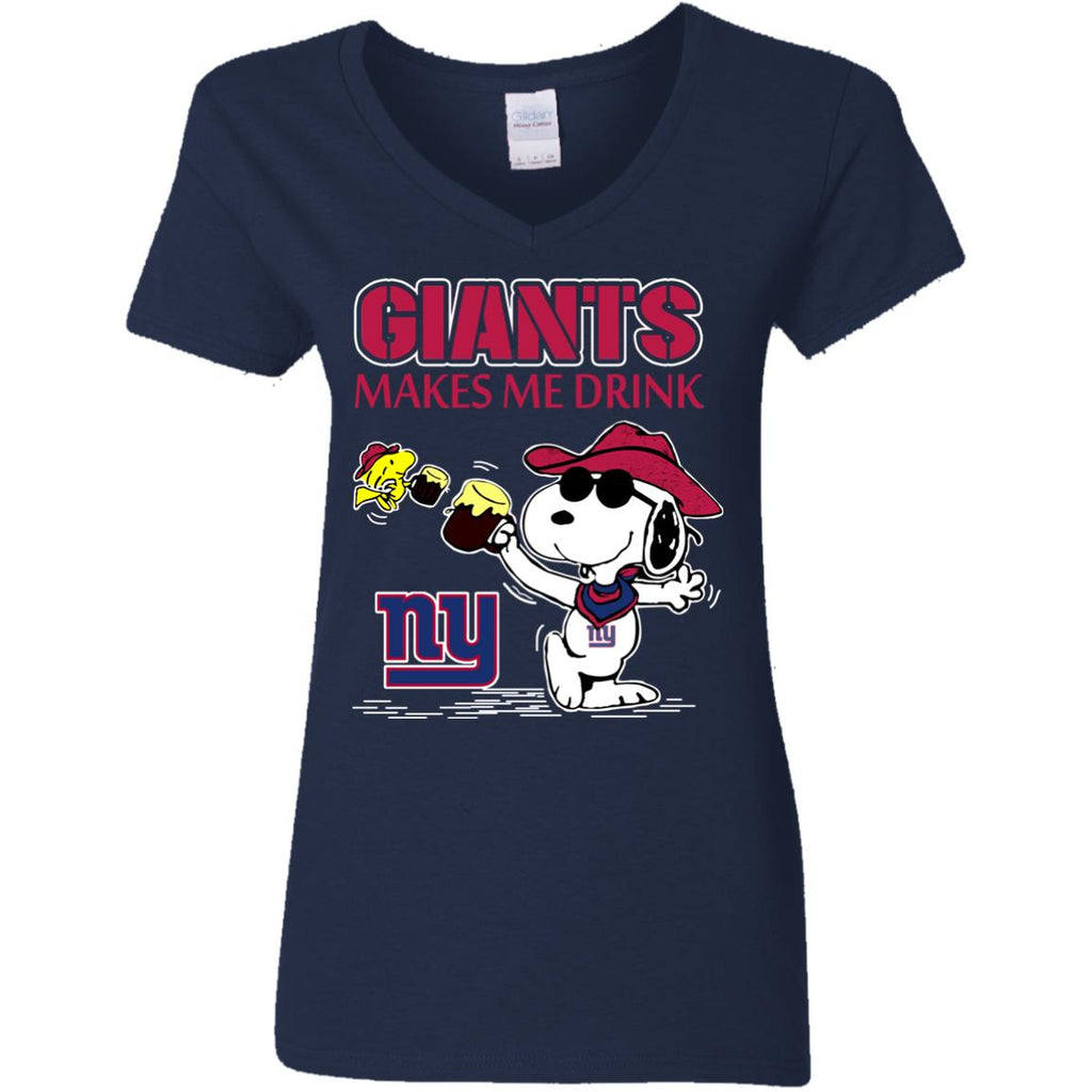 New York Giants Make Me Drinks T Shirts