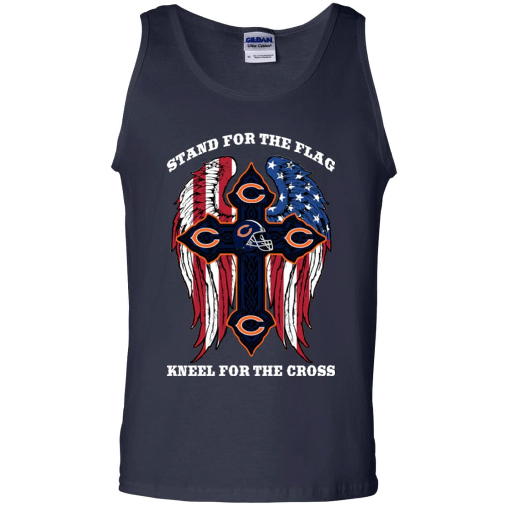 Stand For The Flag Kneel For The Cross Chicago Bears T Shirts