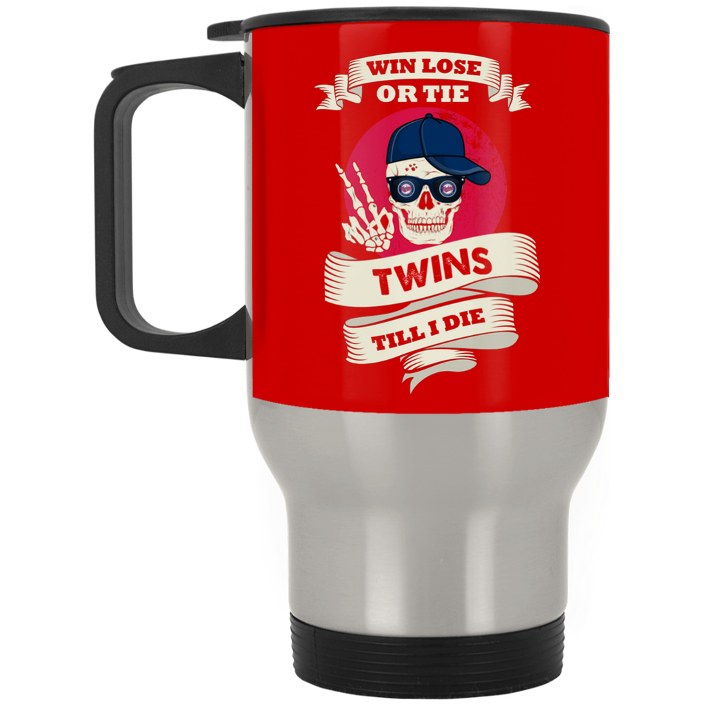 Skull Say Hi Minnesota Twins Mugs