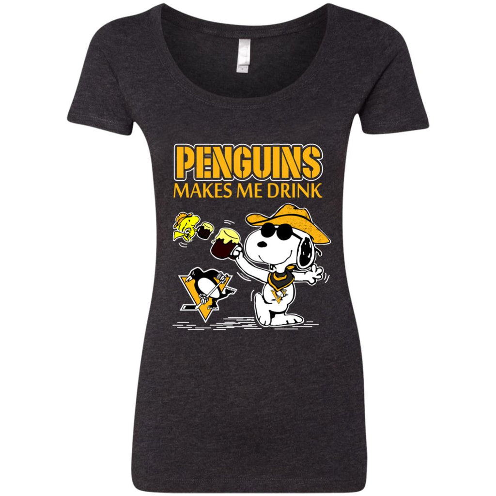 Pittsburgh Penguins Make Me Drinks T Shirts