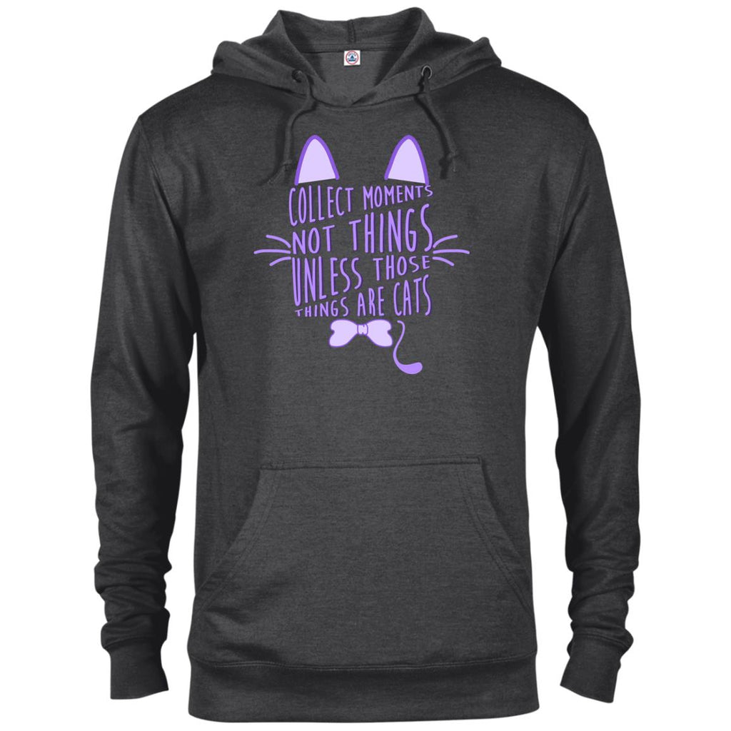 Collect Moments Not Things Cat T Shirts