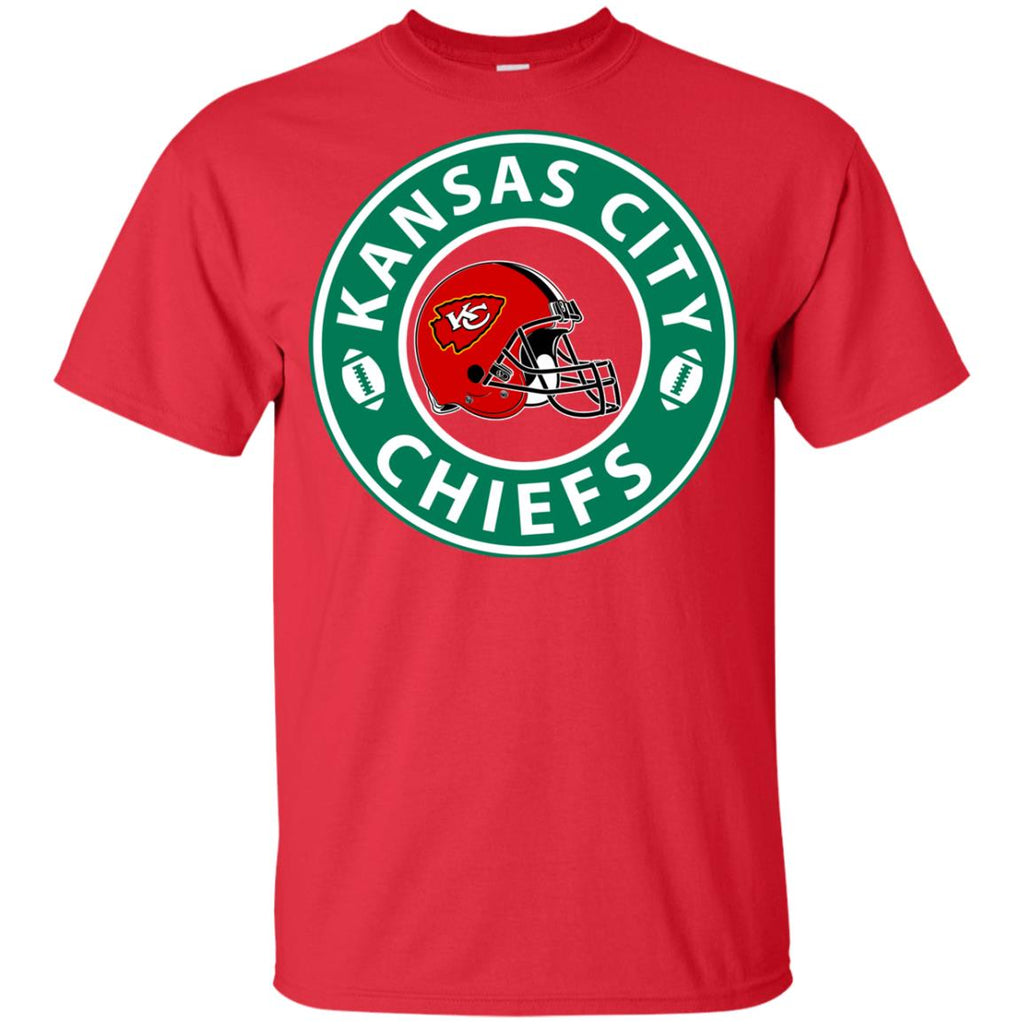 Starbucks Coffee Kansas City Chiefs T Shirts