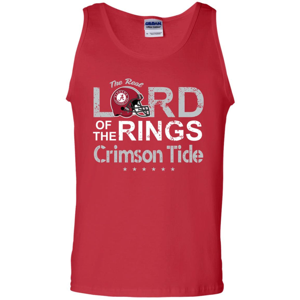 The Real Lord Of The Rings Alabama Crimson Tide T Shirts
