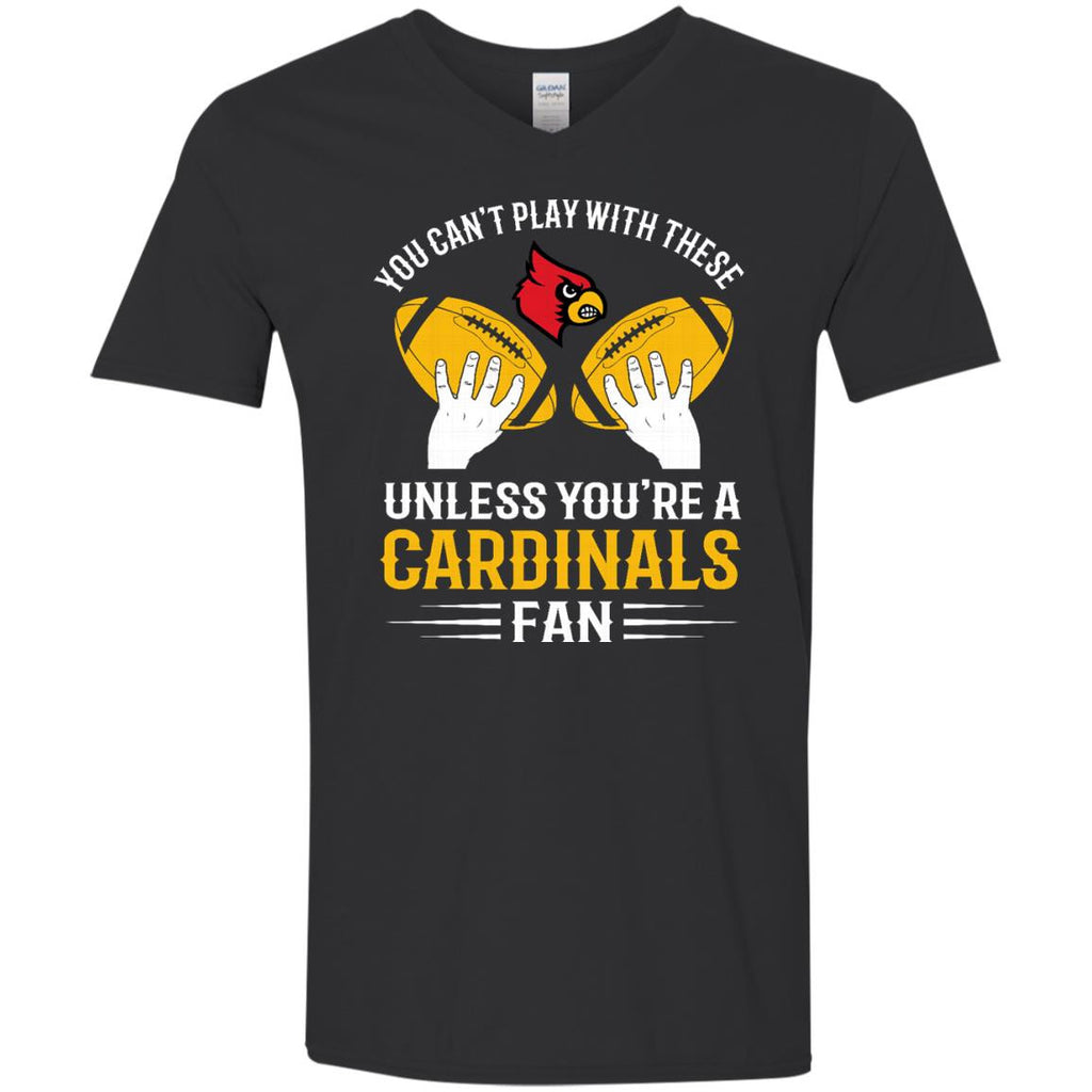 Play With Balls Louisville Cardinals T Shirt - Best Funny Store