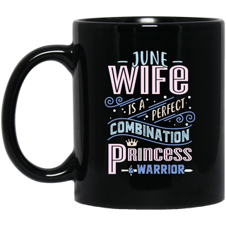 June Wife Combination Princess And Warrior Mugs