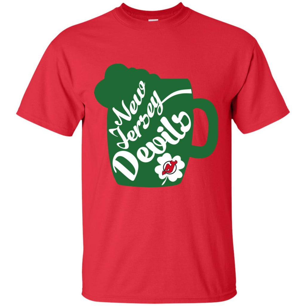Amazing Beer Patrick's Day New Jersey Devils T Shirts