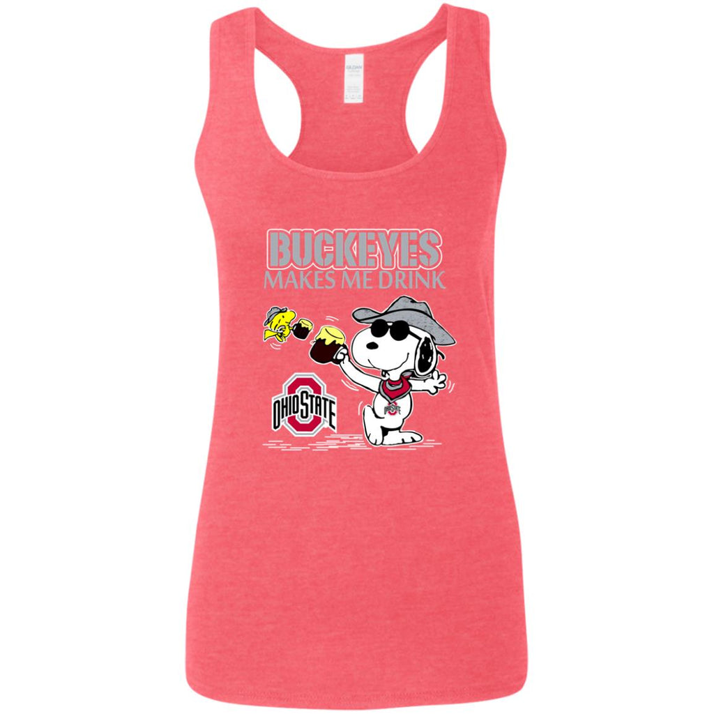 Ohio State Buckeyes Make Me Drinks T Shirts