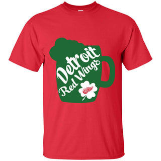Amazing Beer Patrick's Day Detroit Red Wings T Shirts