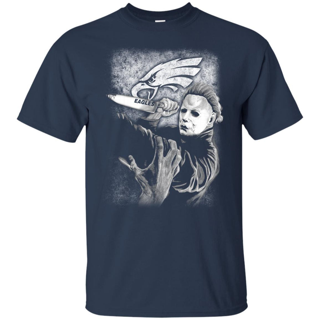 Michael Jason Myers Friday The 13th Philadelphia Eagles Halloween T Shirts - Best Funny Store