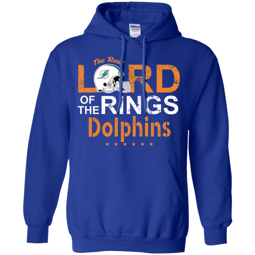 The Real Lord Of The Rings Miami Dolphins T Shirts