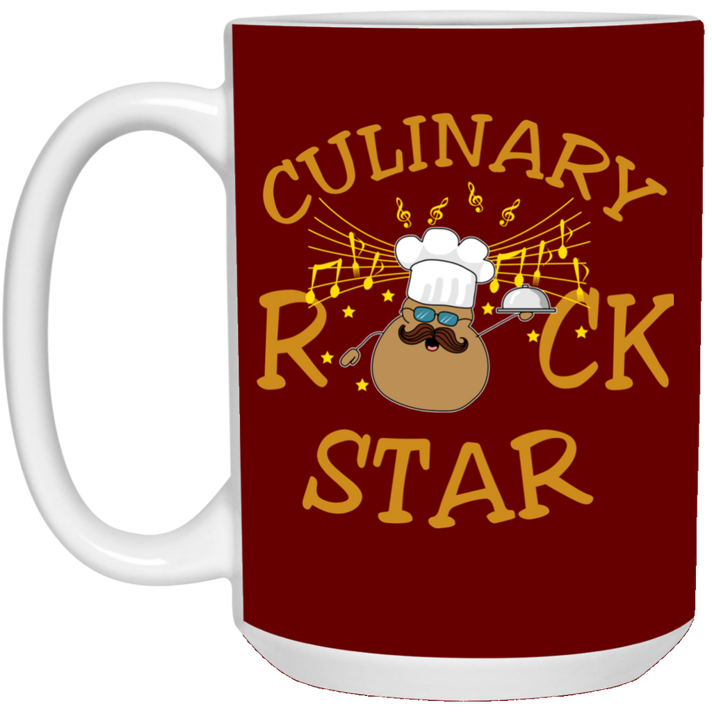 Culinary Rock Chef Mugs