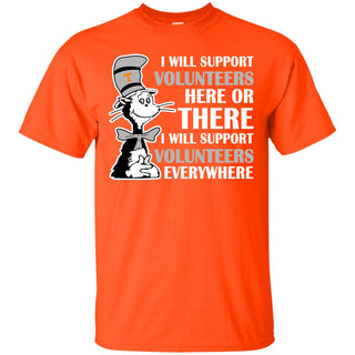 I Will Support Everywhere Tennessee Volunteers T Shirts