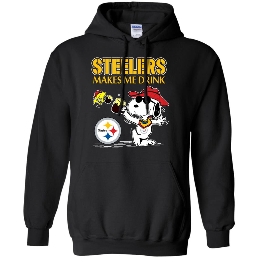 Pittsburgh Steelers Make Me Drinks T Shirts