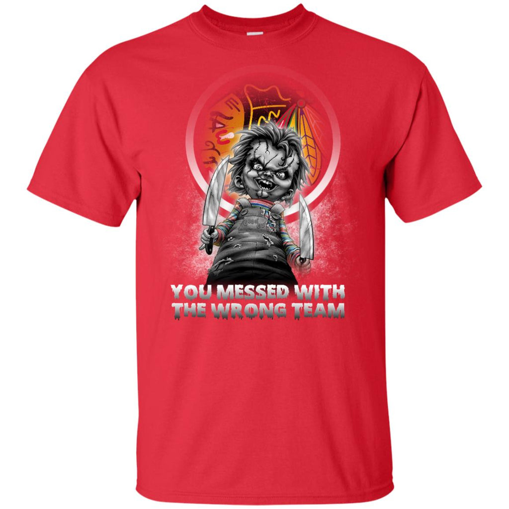 You Messed With The Wrong Chicago Blackhawks T Shirts