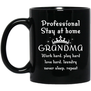 Professional Stay At Home Grandma Mugs