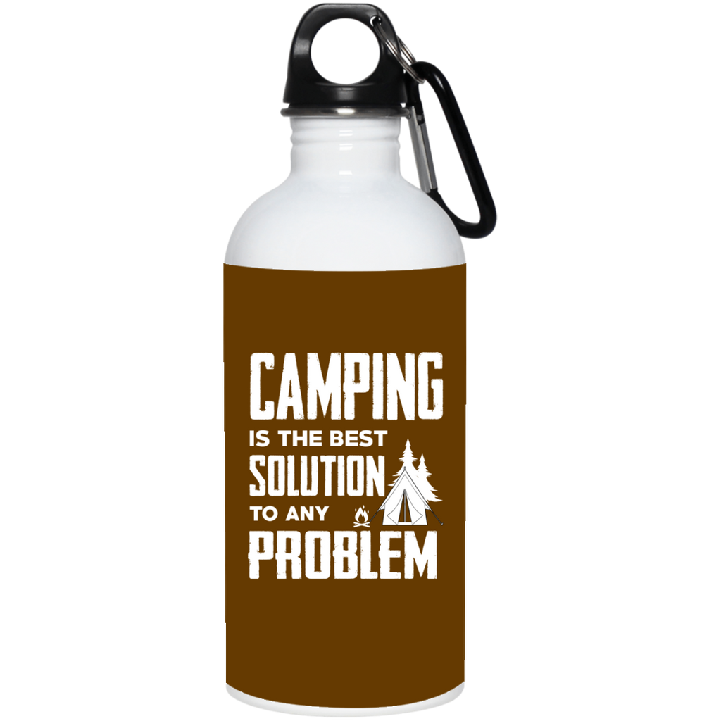 Camping Is The Best Solution Mugs