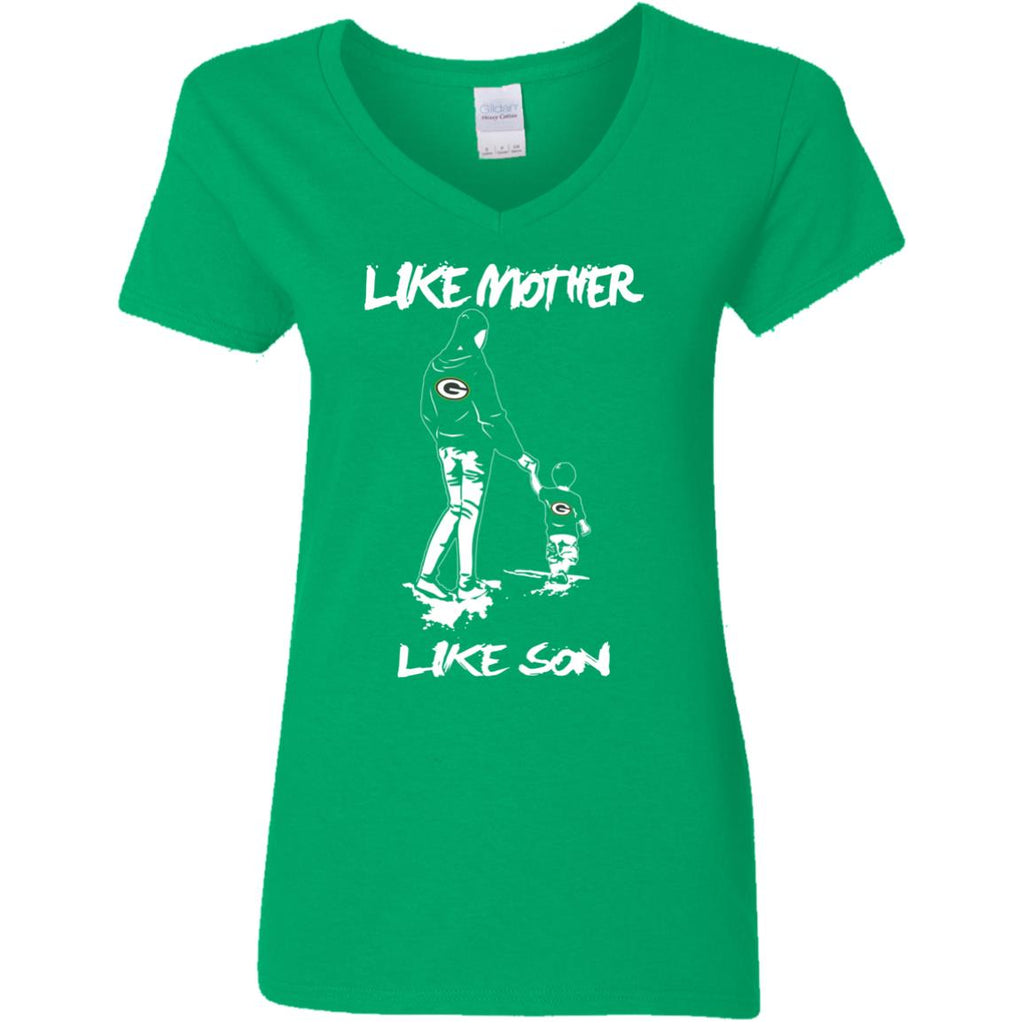 Like Mother Like Son Green Bay Packers T Shirt