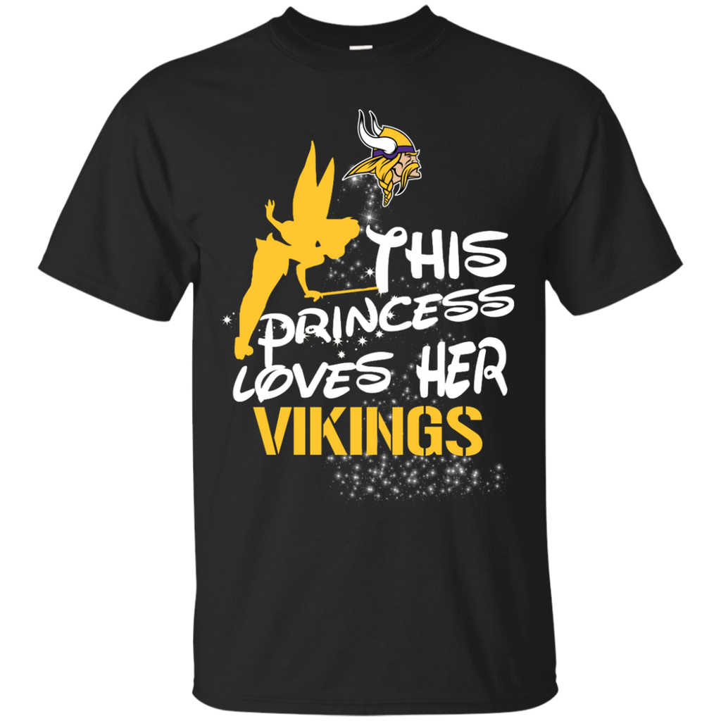 This Princess Love Her Minnesota Vikings T Shirts
