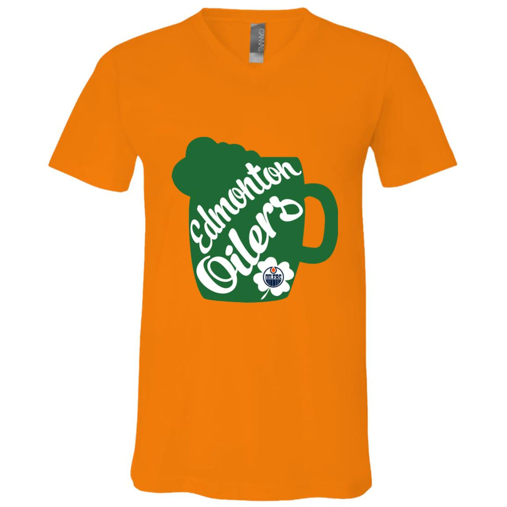 Amazing Beer Patrick's Day Edmonton Oilers T Shirts