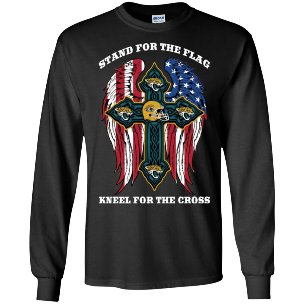 Stand For The Flag Kneel For The Cross Jacksonville Jaguars T Shirts
