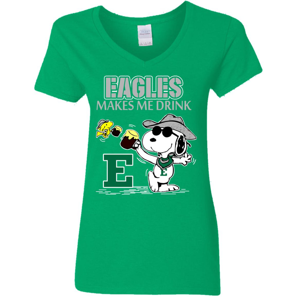 Eastern Michigan Eagles Make Me Drinks T Shirts