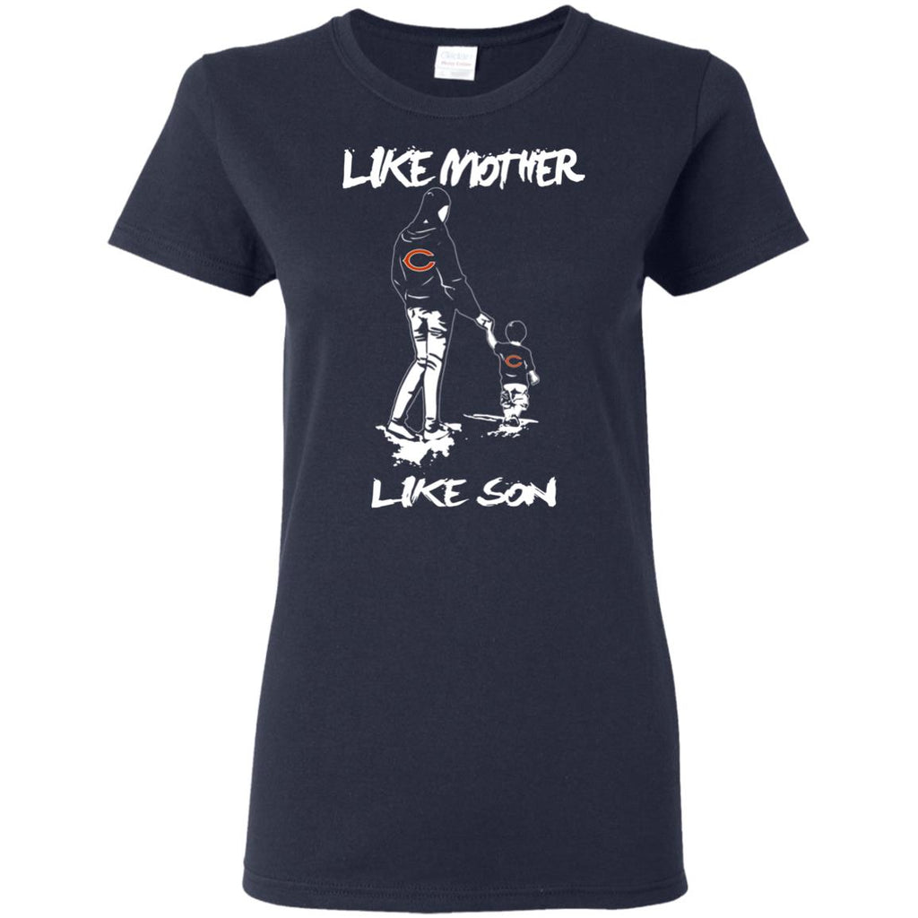 Like Mother Like Son Chicago Bears T Shirt