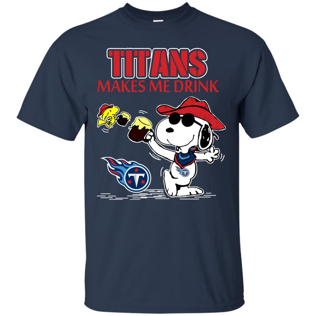 Tennessee Titans Make Me Drinks T Shirts