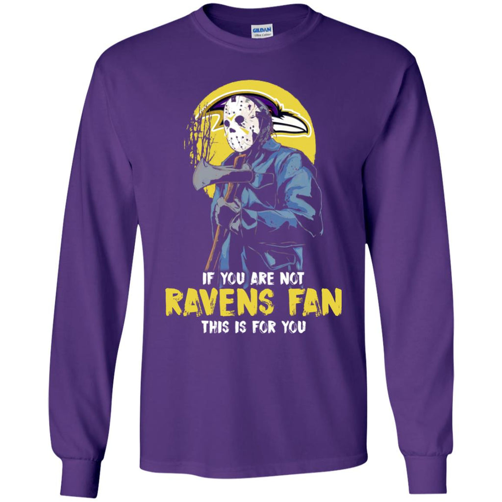 Jason With His Axe Baltimore Ravens T Shirts
